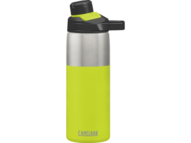 CamelBak Chute Mag Botella Aislante de Acero Inoxidable 600ml, lime